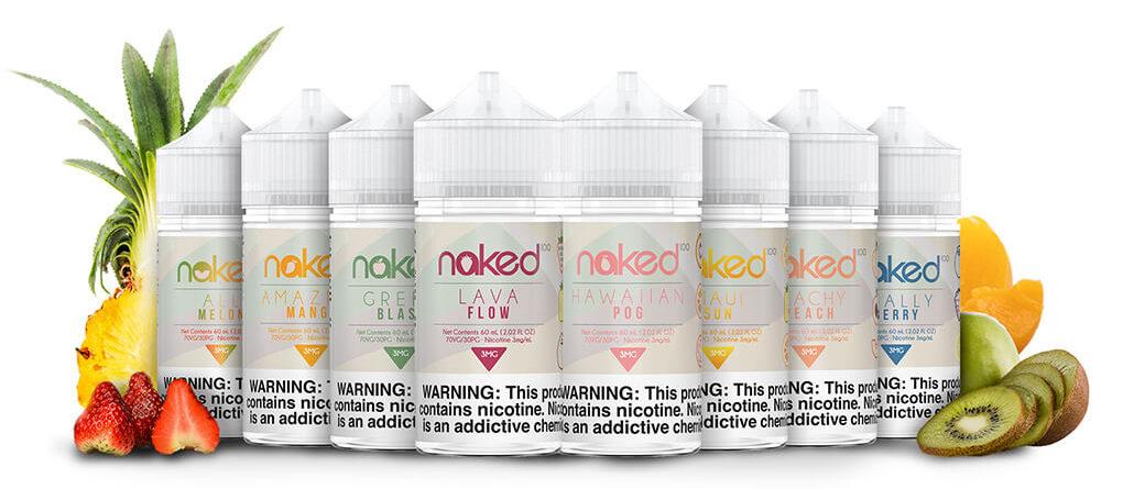 Líquidos E-Liquid Naked 100