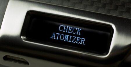 Check Atomizer, Atomizer Low, No Atomizer ¿Cómo Arreglarlo?